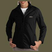 Ladies Soft Shell Embroidered Jacket