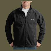 Men's Soft Shell Embroidered Jacket