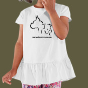 Girl's Toddler Ruffle Tee