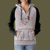 Ladies Zen Hoodie with Bulldog